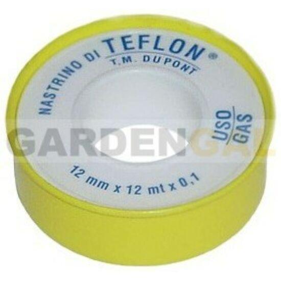 Teflonszalag THC 1/2×1/2m 0,01mm gázos