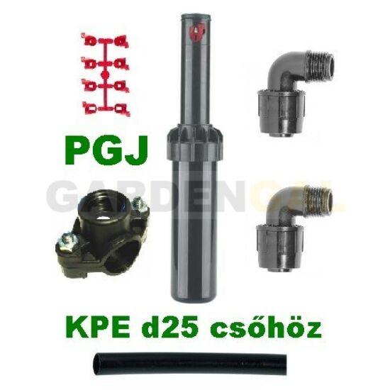Hunter PGJ rotoros szórófej szett (KPE d25mm csőhöz)