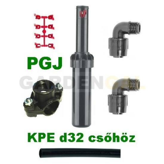 Hunter PGJ rotoros szórófej szett (KPE d32mm csőhöz)