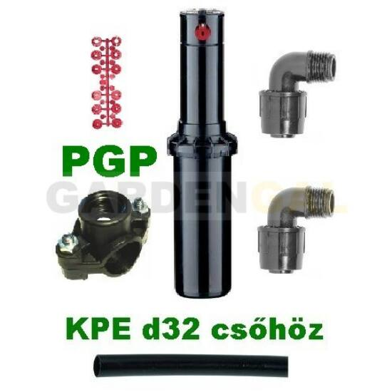 Hunter PGP rotoros szórófej szett (KPE d32mm csőhöz)